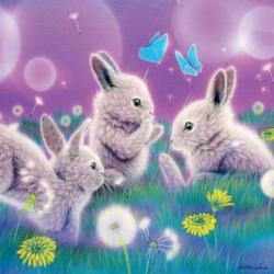 Spring Has Sprung (Glitter) - Scratch and Dent Spring Children's Puzzles