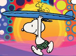 Peanuts Surf's Up Cartoons Children's Puzzles