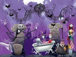 Bathtime Ghouls Christmas Jigsaw Puzzle
