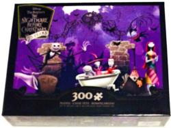 Bathtime Ghouls Christmas Jigsaw Puzzle