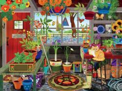 Greenhouse Garden Large Piece