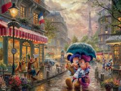Mickey & Minnie in Paris Paris Jigsaw Puzzle