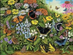 Butterfly Garden Garden Large Piece