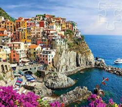 Cinque Terre Seascape / Coastal Living Large Piece