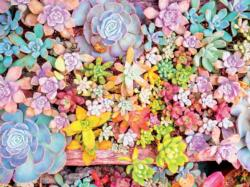 Pretty Pastels Flowers Large Piece