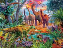 Dinosaur Jungle Dinosaurs Jigsaw Puzzle