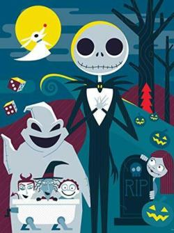 The Nightmare Before Christmas Christmas Jigsaw Puzzle