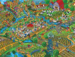 Farm to Table (Steve Skelton's Tooniverse) Cartoons Jigsaw Puzzle