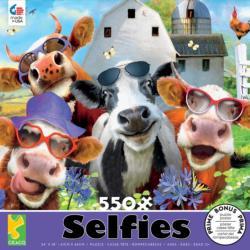Udderly Cool Farm Animals Jigsaw Puzzle