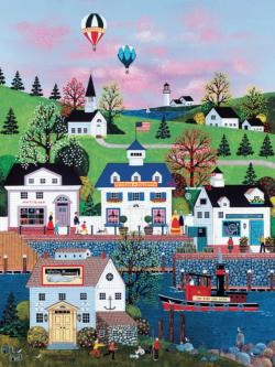 Nantucket - Scratch and Dent Americana & Folk Art Jigsaw Puzzle