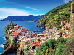 Cinque Terre - Scratch and Dent Seascape / Coastal Living Jigsaw Puzzle
