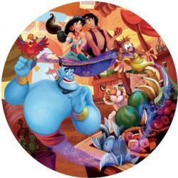 Aladdin Disney Round Jigsaw Puzzle
