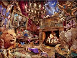 History Mania Bookshelves Jigsaw Puzzle