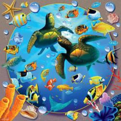 Honu Paradise Turtles Jigsaw Puzzle