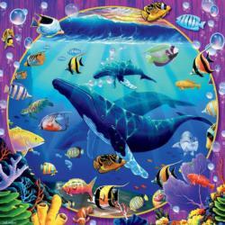Humpback Paradise Fish Jigsaw Puzzle