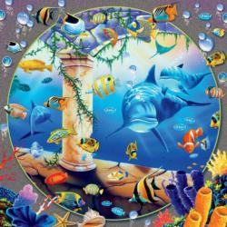 Hanging Gardens Fish Jigsaw Puzzle