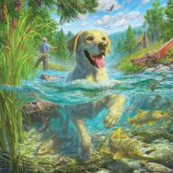 Gone Fishing Lakes / Rivers / Streams Jigsaw Puzzle