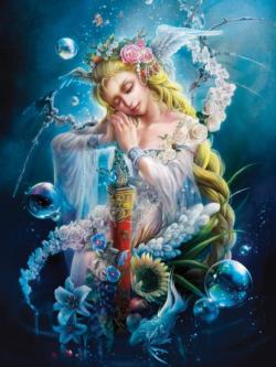 Heaven's Door (Luna) Mermaids Jigsaw Puzzle