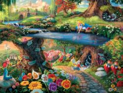 Alice in Wonderland (Thomas Kinkade Disney Dreams) Movies / Books / TV Jigsaw Puzzle