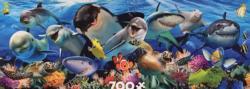 Undersea Under The Sea Panoramic Puzzle