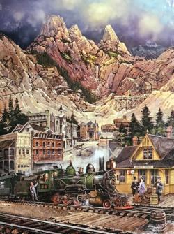 Silver Gulch Nostalgic / Retro Jigsaw Puzzle