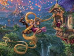 Tangled Up In Love Disney Jigsaw Puzzle
