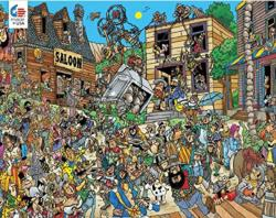 Ol' West Graphics / Illustration Jigsaw Puzzle