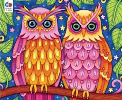 Owls Birds Jigsaw Puzzle