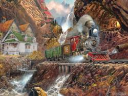 Ponderosa Trains Jigsaw Puzzle