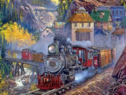Silver Bell II Trains Jigsaw Puzzle