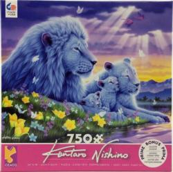 Lion's Happiest Moments Africa Jigsaw Puzzle