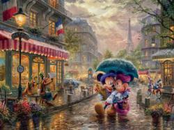 Mickey and Minnie in Paris Paris