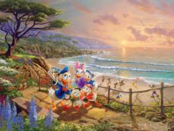 Daisy & Donald - A Ducky Day Cartoons Jigsaw Puzzle