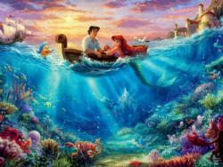 The Little Mermaid - Falling in Love Princess Jigsaw Puzzle