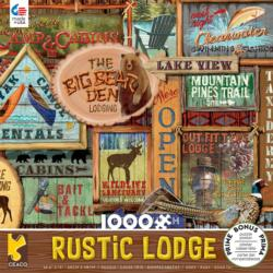 Rustic Signs Cottage / Cabin Jigsaw Puzzle