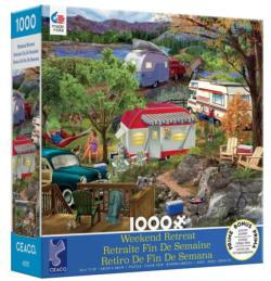 Camping Lakes / Rivers / Streams Jigsaw Puzzle
