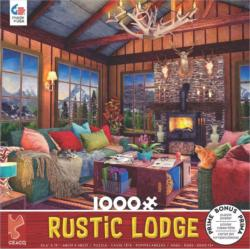 Rustic Lodge #5 Cottage / Cabin Jigsaw Puzzle