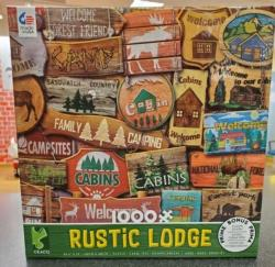 Rustic Lodge #6 Cottage / Cabin Jigsaw Puzzle