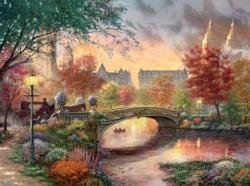 Autumn in New York Sunrise/Sunset Jigsaw Puzzle