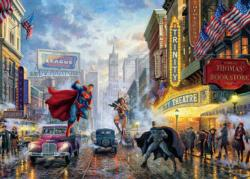 The Trinity Super-heroes Jigsaw Puzzle