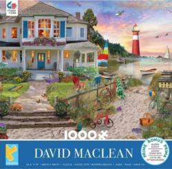 Beach Cove Sunrise / Sunset Jigsaw Puzzle