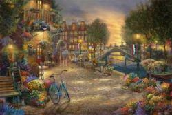 Amsterdam Cafe Amsterdam Jigsaw Puzzle
