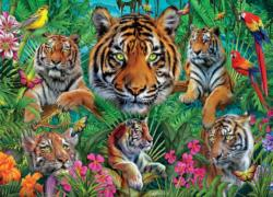 Tiger Jungle Tigers Jigsaw Puzzle