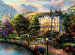 Sound of Music (Thomas Kinkade WB Movie Classics) Movies / Books / TV Jigsaw Puzzle