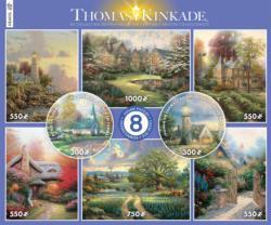 8 in 1 Thomas Kinkaid Multi-Pack Domestic Scene Multi-Pack