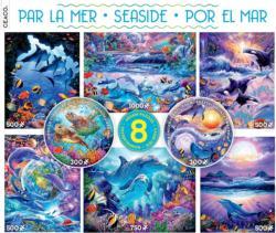 Seaside 8 in 1 Multipack Puzzle Set Under The Sea Multi-Pack