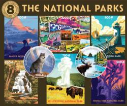 8 in 1 National Parks Multi-Pack National Parks Multi-Pack