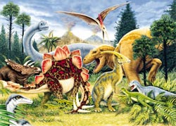 Dinosaurs 1 (2 Assorted) Dinosaurs Jigsaw Puzzle