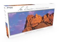 Images of America Panoramic Puzzle - Mt. Rushmore Landscape Panoramic Puzzle