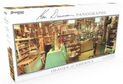 Images of America Panoramic Puzzle - Cataract General Store General Store Panoramic Puzzle